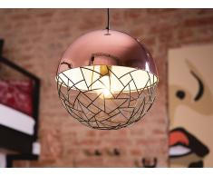 Lampe Kupfer- Deckenlampe - Deckenleuchte - Hängeleuchte - Leuchte - PADMA