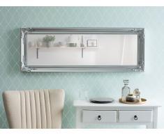 Wandspiegel silber rechteckig 51 x 141 cm BELLAC