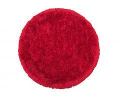 Teppich rot ø 140 cm Hochflor CIDE