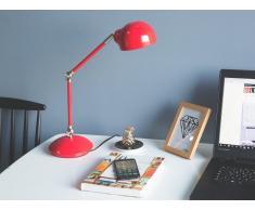 Tischlampe rot 60 cm HELMAND