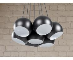 Hängelampe Schwarz - Deckenlampe - Pendellampe - Pendelleuchte - Beleuchtung - OLZA