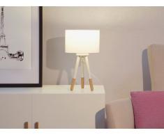 Tischlampe weiss 40 cm TOBOL