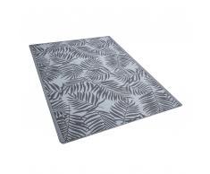 Outdoor Teppich grau 150 x 210 cm KOTA