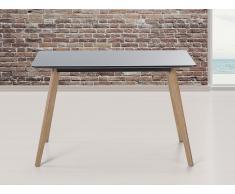 Esstisch schwarz - Küchentisch - Esszimmertisch - 120 cm - FLY