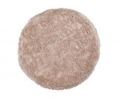 Teppich beige ø 140 cm Hochflor CIDE