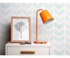 Tischlampe orange 41 cm TARIM