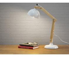 Tischlampe weiss 53 cm SALADO