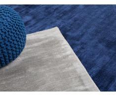 Teppich Marineblau - Läufer - Designerteppich - Wohnzimmerteppich - 80x150 cm - GESI
