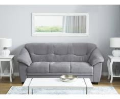 3-Sitzer Sofa Polsterbezug grau STAVANGER