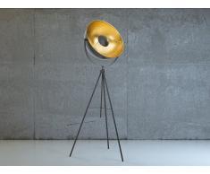 Stehlampe schwarz - Leselampe - Stehleuchte - Standleuchte - Beleuchtung - THAMES