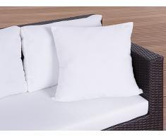Gartenkissen - Zierkissen - Outdoor Dekokissen 50x50 cm beige
