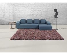 Teppich bunt - 200x300 cm - Shaggy - Polyester - ISTANBUL
