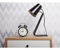 Tischlampe schwarz 34 cm KASAI