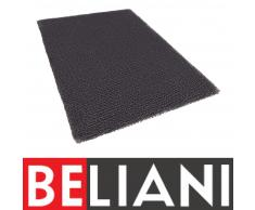 Teppich Grau - 120x170 cm - Shaggy - Polyester - Läufer - Vorlage - EDIRNE