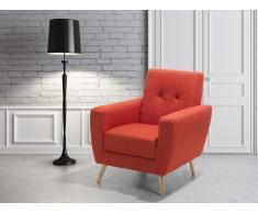 Sessel Rot - Relaxsessel - Fernsehsessel - Chefsessel - Polstersessel - HERNING
