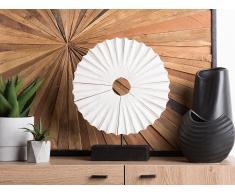 Dekoration Holz weiss COBA