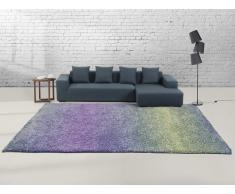 Teppich blau-violett 300 x 400 cm Hochflor SOMA