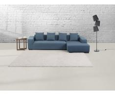 Teppich Elfenbein - 160x230 cm - Velours - Polyester - ORDU