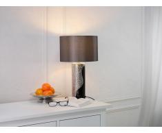 Tischleuchte schwarz/silbern 52 cm AIKEN