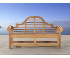 Gartenbank Holz hellbraun 180 cm JAVA MARLBORO
