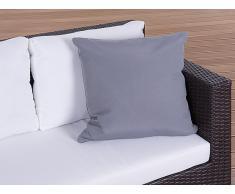 Gartenkissen - Zierkissen - Outdoor Dekokissen 50x50 cm grau