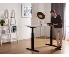 Schreibtisch schwarz/weiss 160 x 80 cm UPLIFT