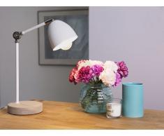 Tischlampe weiss 42 cm CHANZA