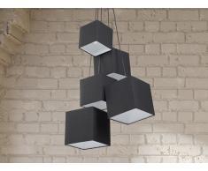Hängelampe schwarz - Deckenlampe - Pendellampe - Pendelleuchte - Beleuchtung - MESTA
