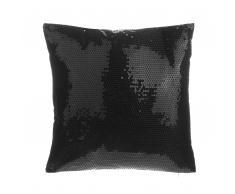 Dekokissen Pailletten schwarz 45 x 45 cm ASTER