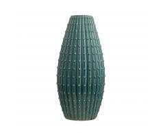 Blumenvase blaugrün 33 cm DELFIA