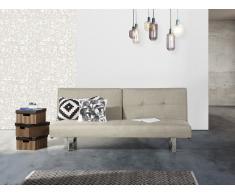 Sofa Hellbeige - Schlafsofa - Couch - Bettsofa - Funktionssofa - Klappsofa - DUBLIN