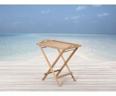 Holz Gartentisch - Teetisch - Tablett Tisch - Holztisch - Teetisch - Beistelltisch - RIVIERA