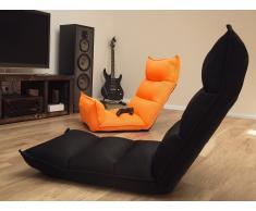 Sitzsessel verstellbar neon orange BALKA
