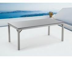 Granittisch 180 cm Grau poliert -Gartenmöbel - Granitplatte - TORINO