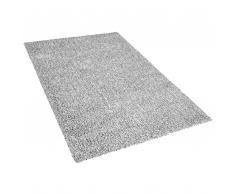 Teppich grau meliert 200 x 300 cm Shaggy DEMRE