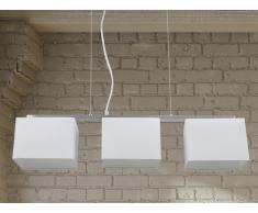 Hängelampe weiss - Deckenlampe - Pendellampe - Pendelleuchte - Beleuchtung - GARONNE