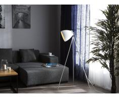 Stehlampe weiss 128 cm TAMEGA