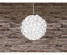 Deckenlampe Weiss - Pendelleuchte - Hängelampe - inkl. Lampenfassung - MARONNE