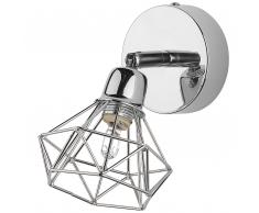 Wandlampe Silbern ERMA