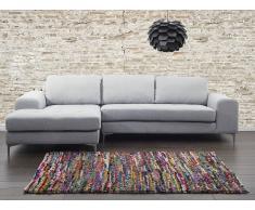 Teppich Bunt - Baumwolle - 140x200 cm - ENEZ