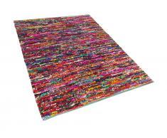 Teppich bunt 160 x 230 cm Hochflor BAFRA