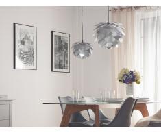 Deckenlampe Silber - Hängelampe - inkl. Lampenfassung - ANDELLE
