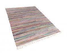 Teppich hellbunt 160 x 230 cm Kurzflor DANCA