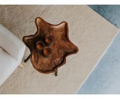 Teppich hellbeige 200 x 300 cm Shaggy DEMRE