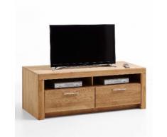 MALANS TV-Lowboard 2-Sk Asteiche teilmassiv
