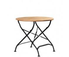 Biergartentisch / Klapptisch / Tisch TELA 80 Akazienholz