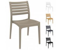 Kunststoffstuhl / Gartenstuhl / Outdoor Stuhl FELICE