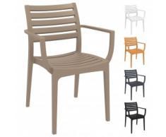 Kunststoffstuhl / Gartenstuhl / Outdoor Stuhl FELICE AL
