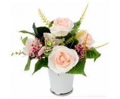 Kunstblume Rosen/Blüten rosa, yourhome