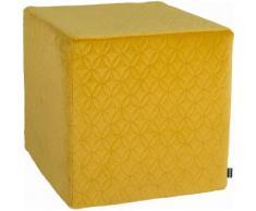 Sitzwürfel 45/45/45 cm gelb, »Soft Nobile«, H.O.C.K.